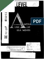 America Use of Sea Mine