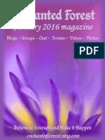 January 2016 Enchanted Forest Magazine