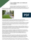 Le droit de passage sur la façon d'aller sur la fixation de votre paysage dans votre maison