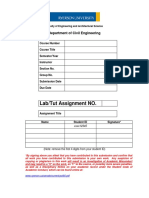 Lab Reports Form