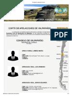 Listado Receptores Judiciales de La v Región Colegiados