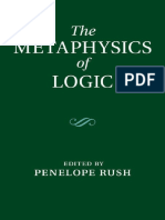 Rush-The Metaphysics of Logic