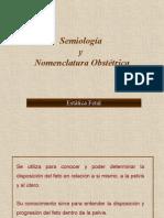 Semiologia-Nomenclatura en Obstetricia