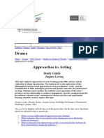 Suzuki Method of Actor Training