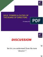 Lecture 3 Directors (25 JAN 2016)