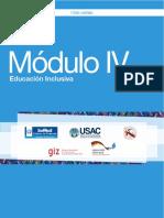 MODULO 4 Educación Inclusiva