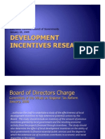 East-West Gateway Board of Directors_Development Incentives Research Presentation