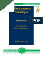 2013 - 09 - MacroAmbiente Economico - Gerenciamento de Projetos