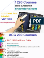 ACC 290 Proactive Tutors/snaptutorial