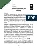 Human Development Report 2015