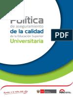 Política Reforma Universitaria Web Libro