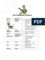 the elements of music yr8