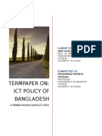 ICT Policy of Bangladesh