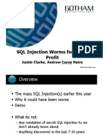 SQL injek