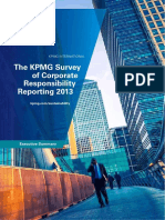 Corporate Responsibility Reporting Survey 2013 Exec Summary