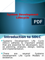 Lec3 & 4_System Development Lifecycle