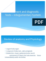 Assessment and Diagnostic Tests- Integumentary