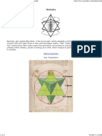 Merkaba - Star Tetrahedron - Flower of Life