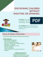 Final_workshop on Discipline