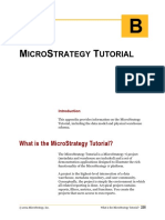 Micro Strategy Tutorial