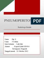 radiologi pneumoperitoneum