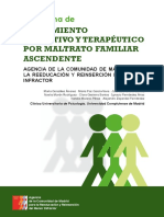 Violencia Filio-parental, Comunidad de Madrid
