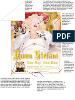 Gwen Steffani Magazine Analysis