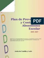 Plan Absentismo Castilla Leon