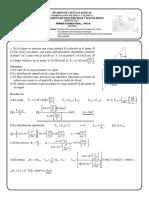 Examen Electricidad y Magnetismo con Solución
