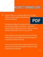 Diagram Architect's brand story