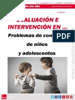 Evaluación e intervención en problemas de conducta de niños y adolescentes