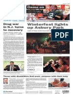 Asbury Park Press front page Monday, Jan. 11 2016