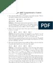 2007 Comprehensive So