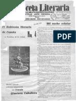 Gaceta Literaria 119 Robinson Literario 1931