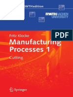 Introduction to Basic Manufacturing Processes and Workshop