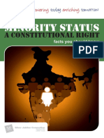 Minority Status Brochure