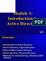 INTRODUCTION TO ACTIVE DIRECTORY.PPT