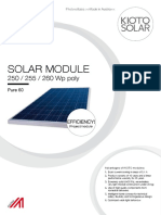 Kioto Solar Db Pure60 en 40mm 200215
