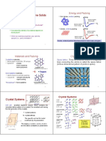 Lectures 2 to 5 - Crystallography
