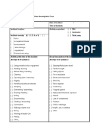 15 Form for Medium Potential Incident Investigation
