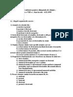 Propuneri subiecte pentru olimpiada de chimie