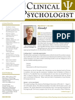 Clinical Psychologist 2012