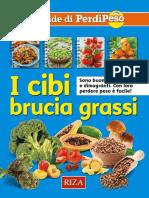 Cibi Brucia Grassi