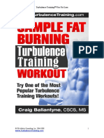 Fat Burning Turbulence Training Workout for Fat Loss