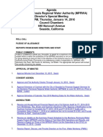 MPRWA Special Meeting Agenda Packet 01-14-16