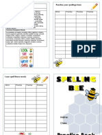 Spelling Practise Book - Year 6 Aut 1