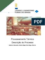 Descrição Do Processamento Térmico VSB