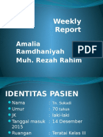 Weekly Report Tu. Rektosigmoid