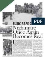 Subic Rape Case