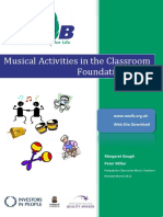 Musical Activities in Classroom - Foundation Stage